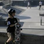 Najmlajši tekmovalec dogodka, 8-letni Jaka Škrjanc