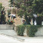 Matjaž Bedenik z zmagovalnim alley-oop backside flipom na spotu številka 1