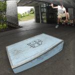 Erik Pančur ollie to frontside 360 boneless